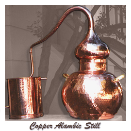 copper still from Jeanne Rose